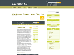 thème wordpress Yourblog