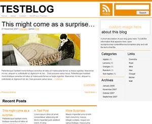 thème WordPress Simpleton