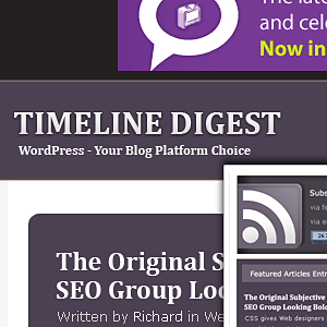 thème wordpress magazine timeline digest