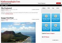 thème WordPress Forte magazine