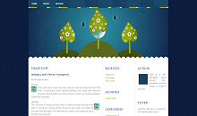 Thème WordPress night whimsy