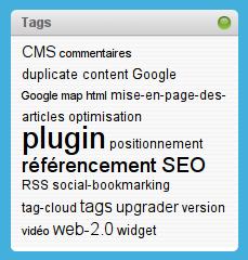 tag cloud